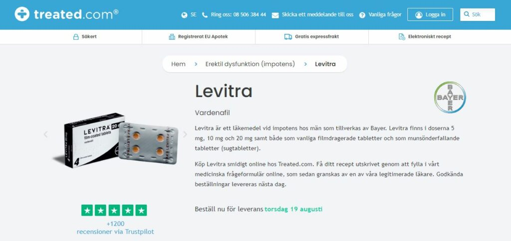 Köp Levitra