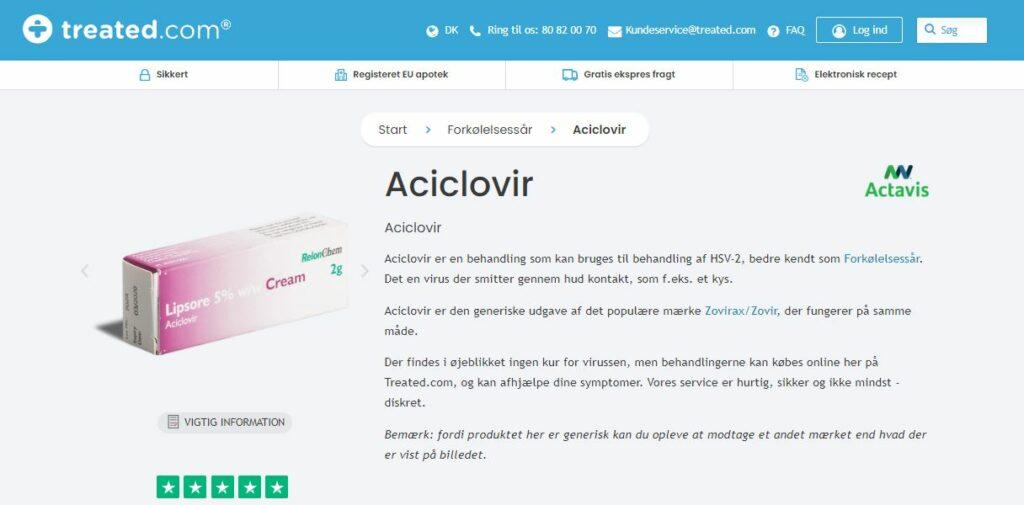 Køb Aciclovir