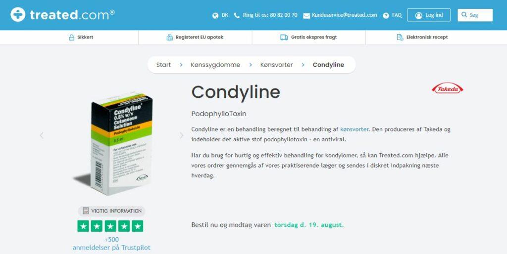 Køb Condyline
